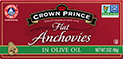 flat anchovies in olive oil