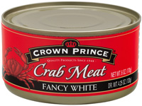 Fancy White Crab Meat