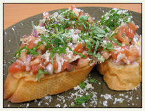 Bruschetta with Anchovies