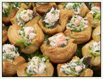 Crab Pastry Cups