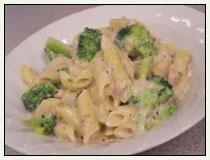 recipe: tuna alfredo with penne pasta [7]